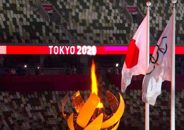 La cerimonia di apertura di Tokyo 2020