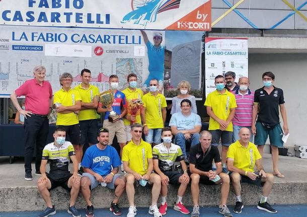 ciclisti del Vanzavilla Team