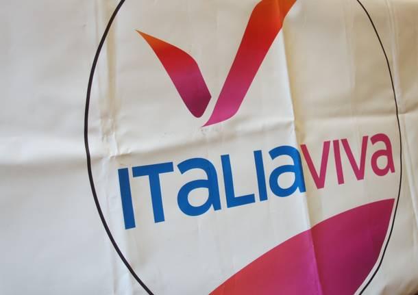 Elezioni a Caronno Pertusella, inaugurata la nuova sede di Italia Viva