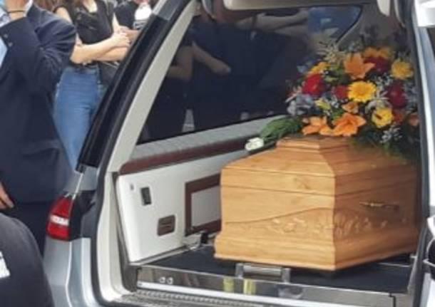 funerali Marco Barilatti Cerro Maggiore