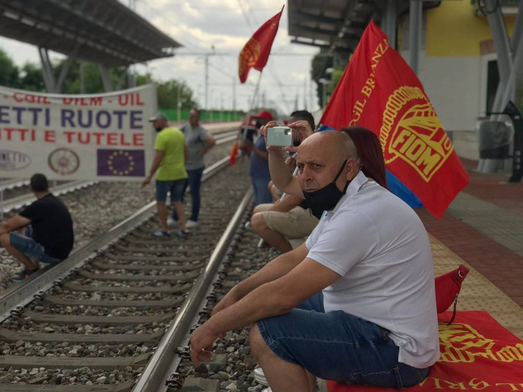 Gianetti Ruote, lavoratori in corteo