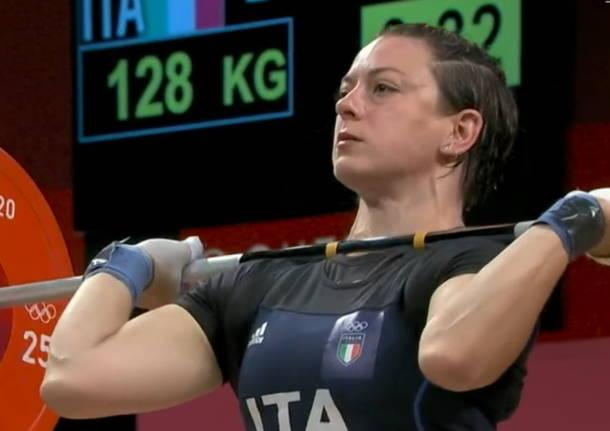 giorgia bordignon sollevamento pesi olimpiadi
