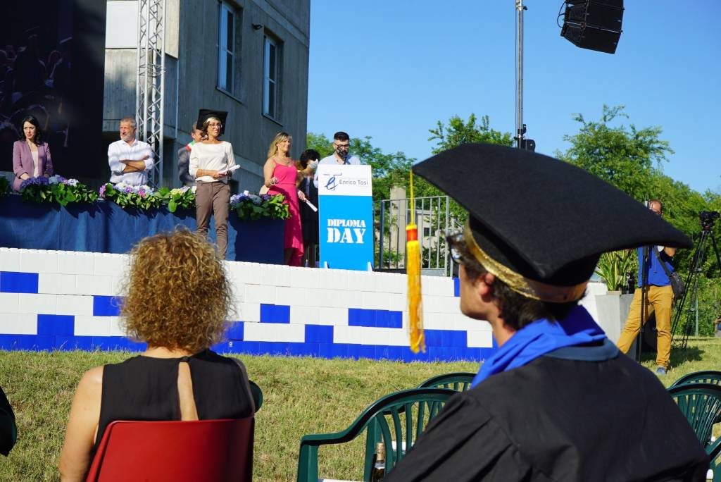 Il Diploma Day all'ITE Tosi