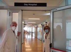 Il nuovo day hospital oncologico dell'ospedale di Saronno
