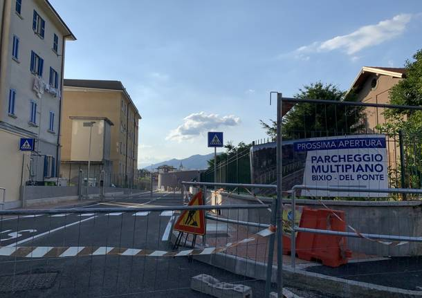Il parcheggio del ponte sta per aprire