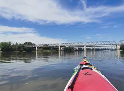 Il viaggio di Francesco Gobbi in kayak, prima settimana