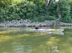 Il viaggio di Francesco Gobbi in kayak, seconda settimana