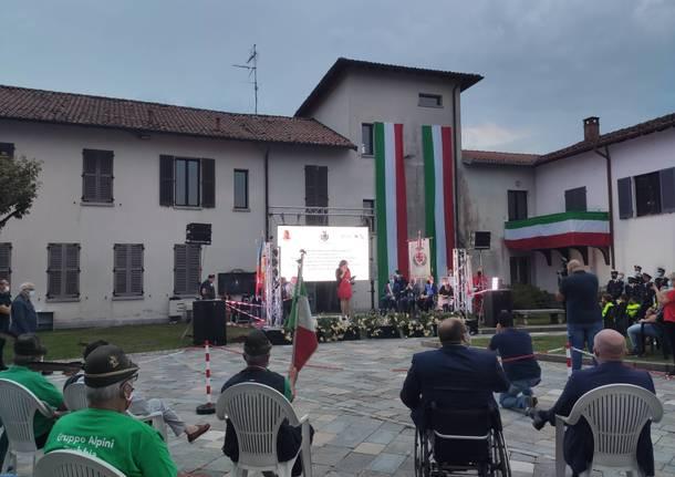 L'inaugurazione della piazza di Brebbia