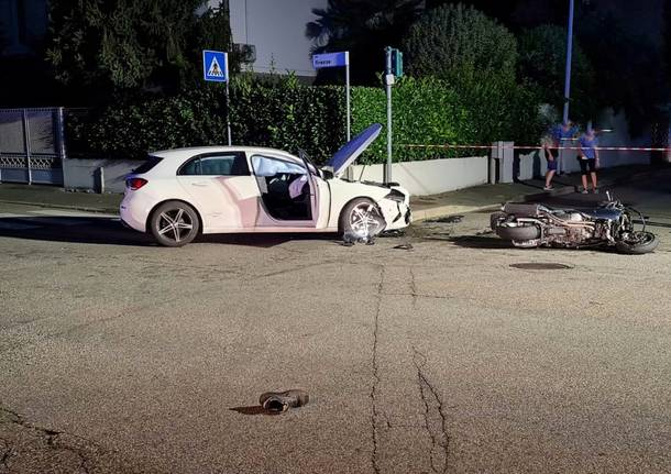 Incidente in via Liguria a Legnano