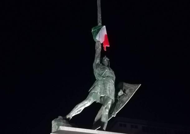 Italia in finale, festa a Legnano