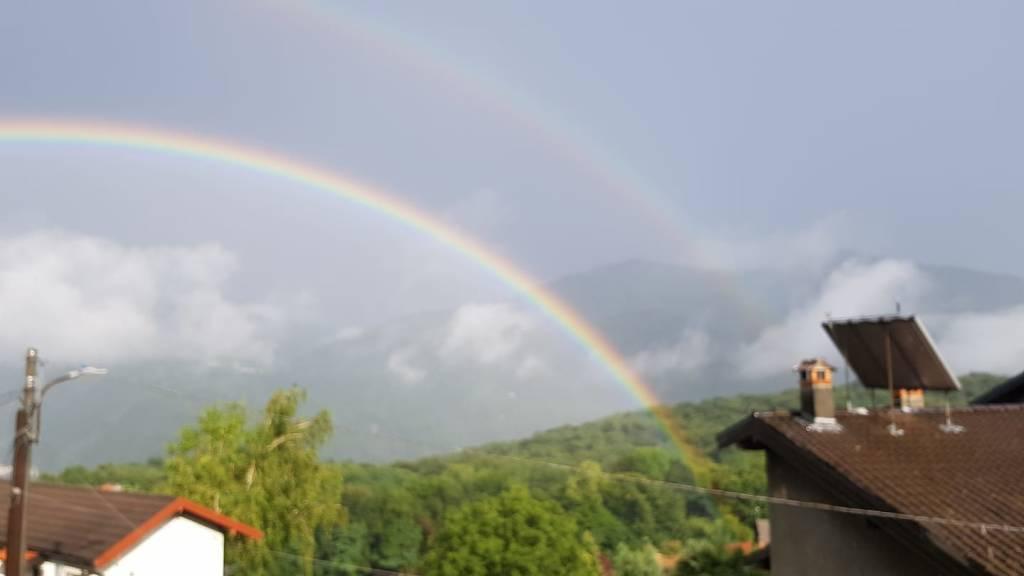 L'arcobaleno di domenica 4 luglio