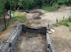 La nuova alluvione su Luvinate