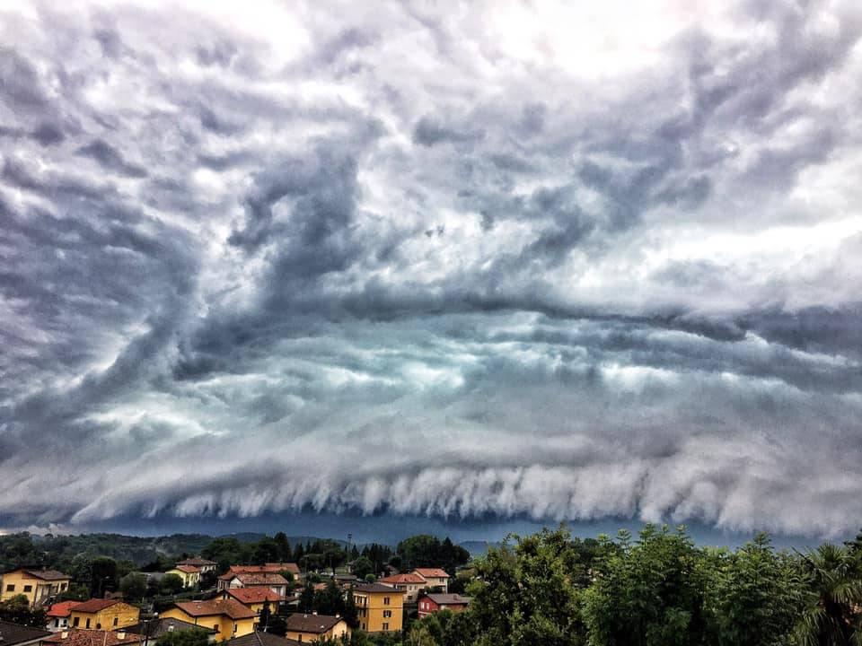 La tempesta da Saltrio - foto di Elvio Primo Tartaini