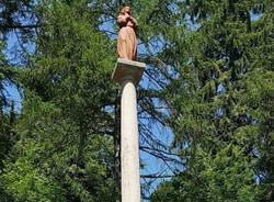 La Vergine del Campo dei Fiori è tornata in vetta