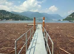 Maltempo lago di Como - foto di Reporter per caso