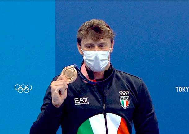 nicolò martinenghi bronzo olimpiadi tokyo nuoto