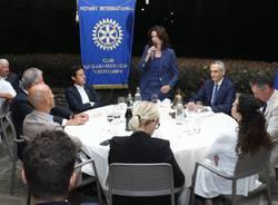 Norma Gimondi ospite del Rotary Club Castellanza