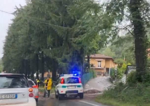 Nubifragio Valganna 28 luglio 2021