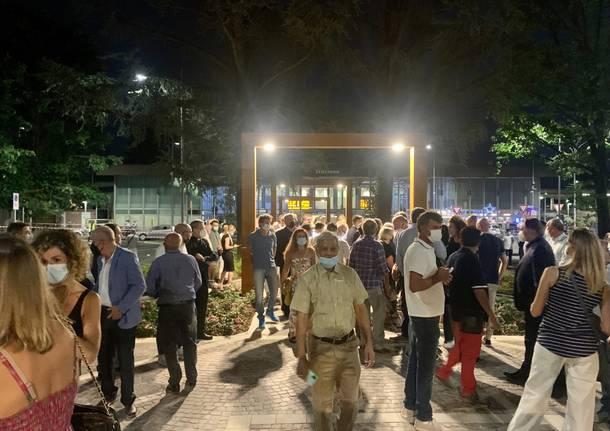 Piazza stazione Gallarate