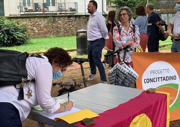 Progetto concittadino con Collettiva si presentano al parco Perelli