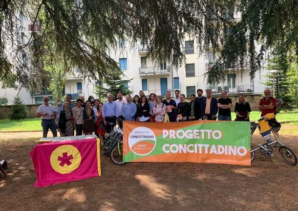 Progetto concittadino e Collettiva si presentano al parco Perelli