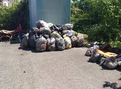 rifiuti giornata ecologica