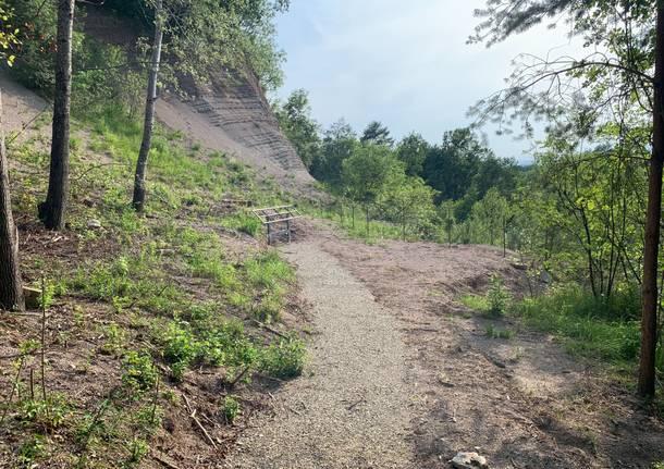 Sentiero cava Rusconi Casciago