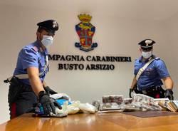 sequestro droga carabinieri busto arsizio