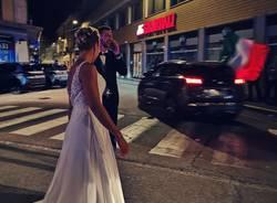 Sposi a Varese Europei 2021 (foto Alessandra Bertoni)