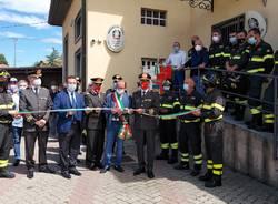 Tradate - Inaugurazione ufficiale per la sede dei Vigili del fuoco