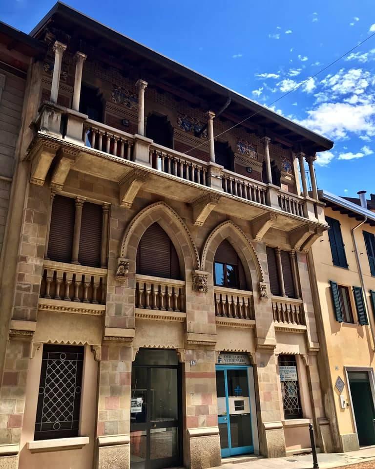 Tradate, palazzo ad Abbiate Guazzone - foto di Rosanna Carbone