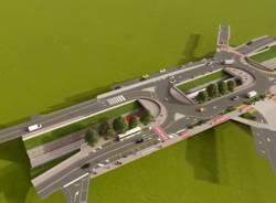 Varese - Il rendering del progetto di Largo Flaiano