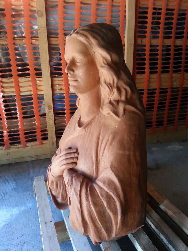 Vergine del Campo dei Fiori, proseguono i lavori di restauro