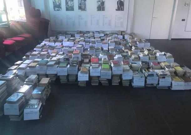 Villa Cortese: lavori biblioteca