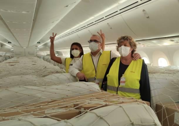 Gli aiuti Cgil per Cuba partono da Malpensa