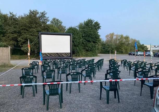Alla Gianetti Ruote cinema all'aperto a sostegno dei lavoratori in presidio
