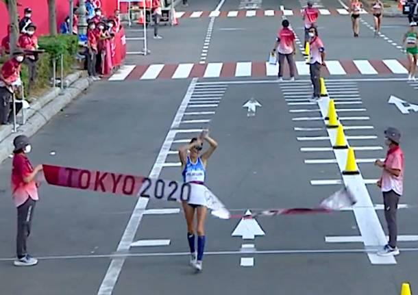 antonella palmisano marcia atletica leggera tokyo 2020