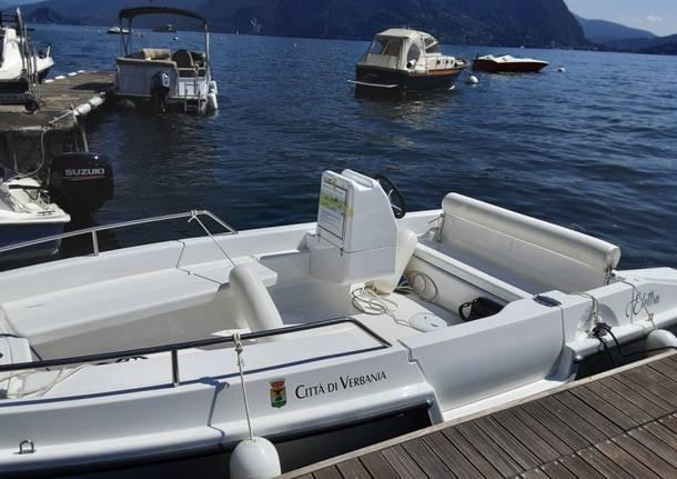 barca elettrica verbania