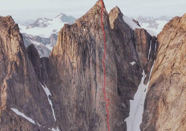 Groenlandia 2021 - La spedizione di Matteo Della Bordella