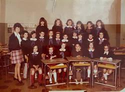 classe 5a A anno 1973 scuola elementare laveno