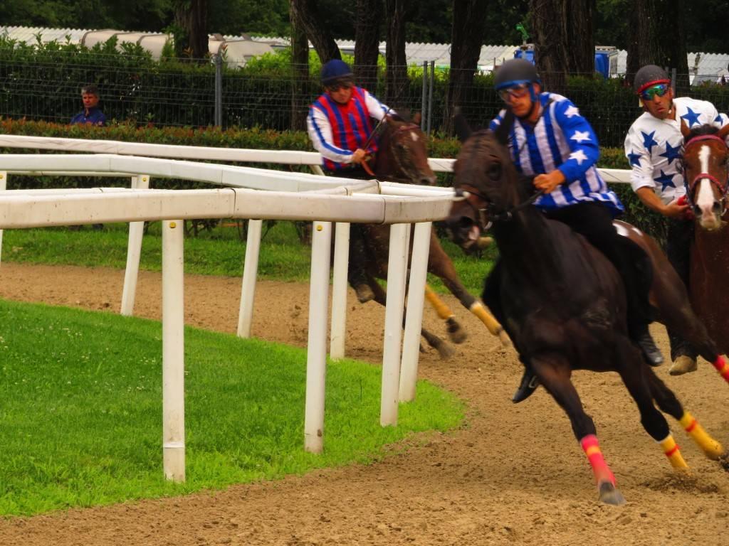 Corse di addestramento Palio di Legnano - 1 agosto 2021