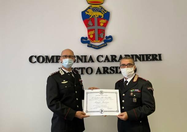 francesco caseri gianluca piasentin carabinieri