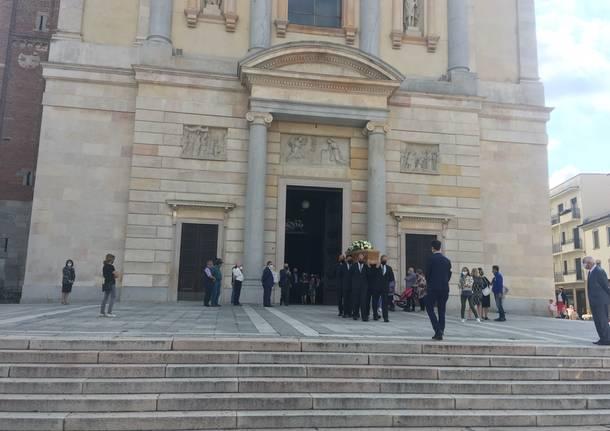 funerale Pietro Tenconi re risotto gallarate