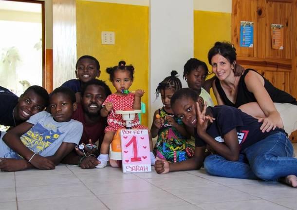 Missionaria Busto ad Haiti