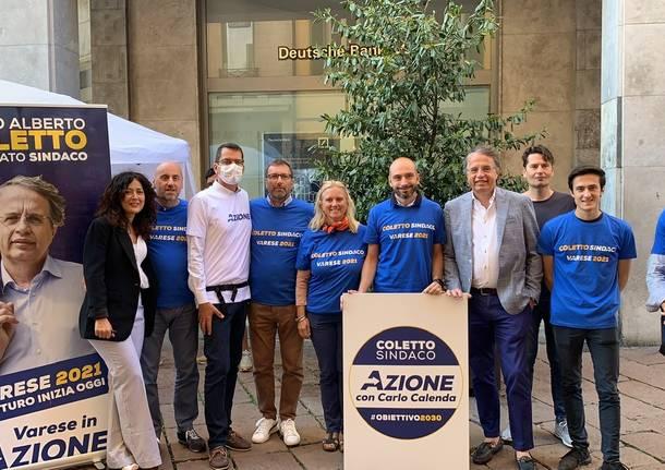 Il nuovo logo di Azione Varese