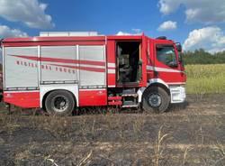incendi nell'alto milanese