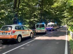 incidente sempione gallarate casorate ambulanza