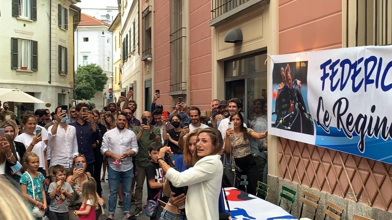 La festa a Varese per Federica  Cesarini e Valentina Rodini