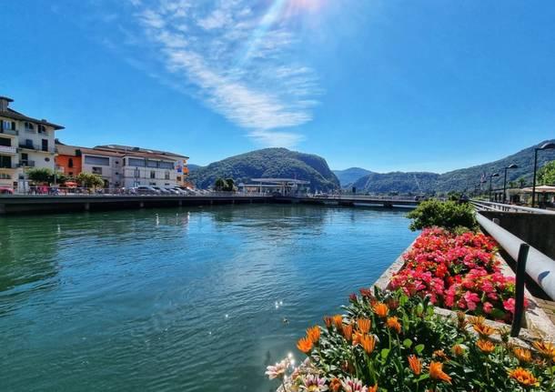La sponda Varesina del Lago Ceresio