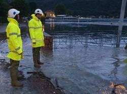 Maltempo in Valceresio: al lavoro i volontari del Nucleo mobile di pronto intervento